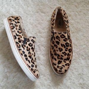 UGG 🐆 Calf Fur Leopard Shoes